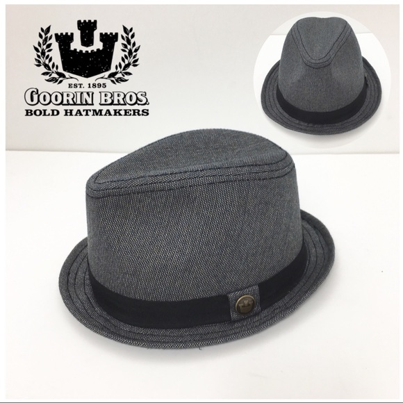 6cd1ca1fc3d47 Goorin Bros Accessories | Tweed Classic Hat Gray Black | Poshmark